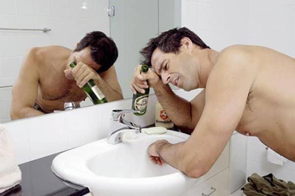 Порочная тяга к спиртному