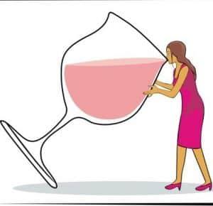 Отличительная черта зависимости женщин от крепких напитков