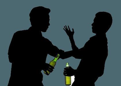 Влияние улицы и алкоголь