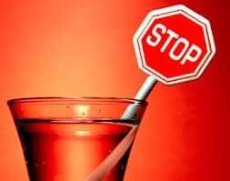 Установка запрета на употребление крепких напитков