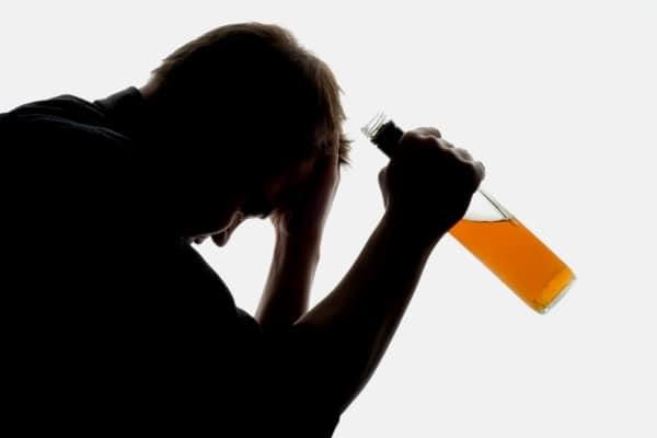 Высшая степень зависимости от спиртных напитков