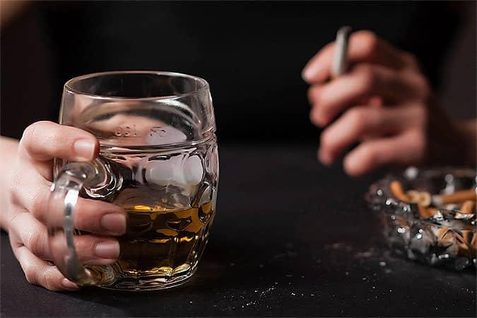Пагубное влечение к спиртному