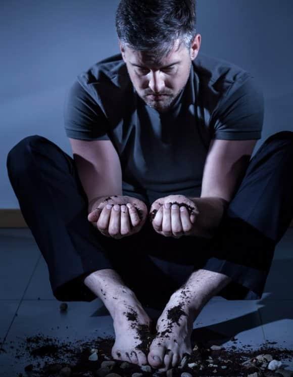 Острый психоз, вызванный длительным запоем