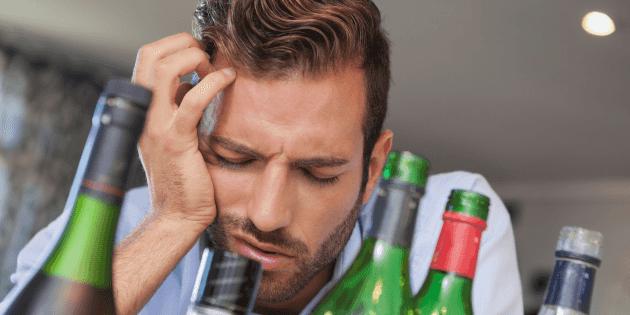 Мучительное состояние после пьянки