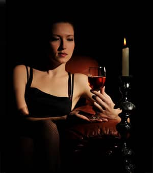 Проявление пагубного влечения к спиртному