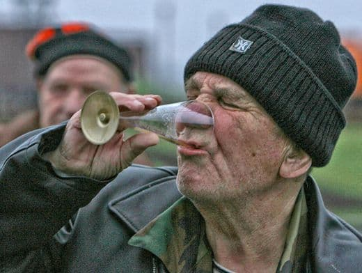 Старость в «пьяном угаре»