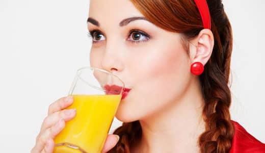 Употребление натурального сока