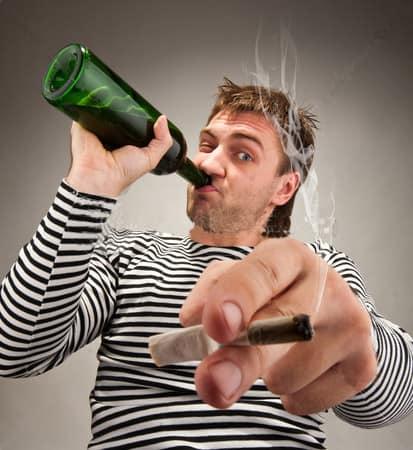Пьяница со стажем