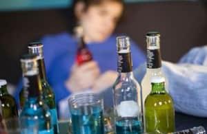 Бесконтрольное употребление горячительных напитков