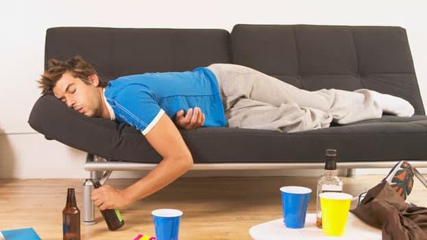 Болезненное состояние, вызванное чрезмерным употреблением спиртного
