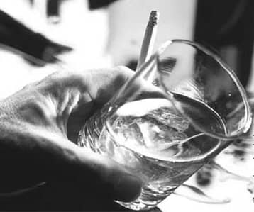 Порочное влечение к горячительным напиткам